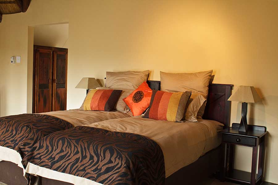 Kololo game reserve bedroom